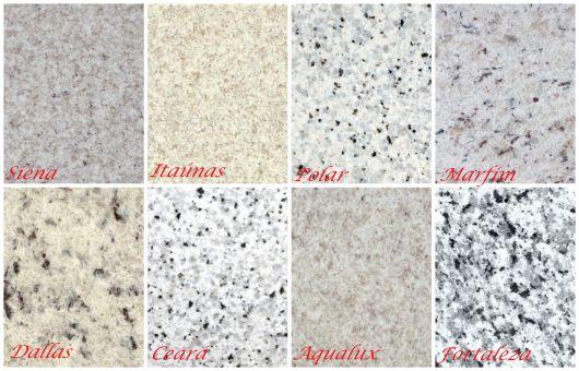 Granito branco tipos pre os e projetos incr veis for Tipos de granito para pisos