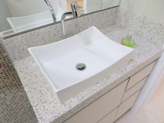 GRANITO BRANCO tipos, preços e projetos incríveis! -> Pia De Banheiro Aqualux
