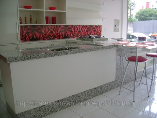 decoração vermelha cozinha