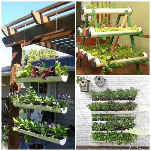 Horta Vertical Suspensa 60 projetos e passo a passo!