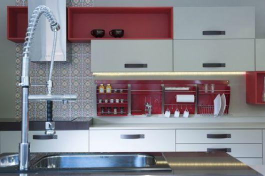 decoracao cozinha nichos:Nichos para cozinha: 40 ideias de como usar na decoração!