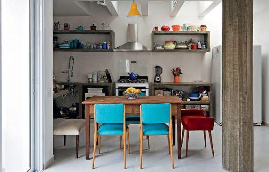 decoracao cozinha nichos : decoracao cozinha nichos:Nichos para cozinha: 40 ideias de como usar na decoração!