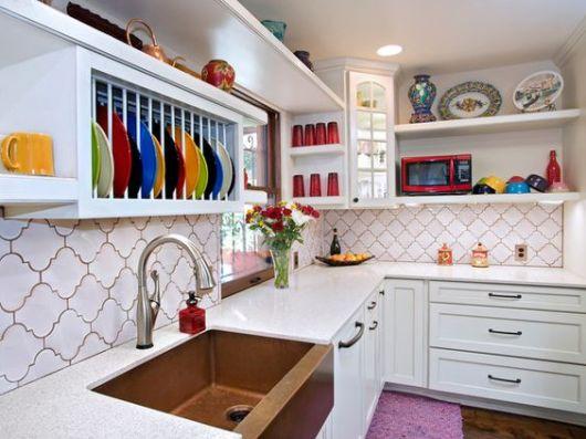 40 ideias de nichos para cozinha como usar na decora o for Cocinas decoradas sencillas