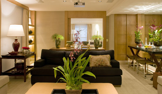 75 plantas artificiais dicas e decora es com folhagens for Casa rustica classica
