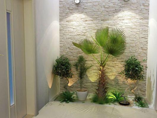 parede de pedra decorativa