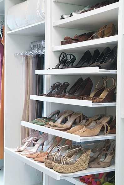 prateleira de sapatos