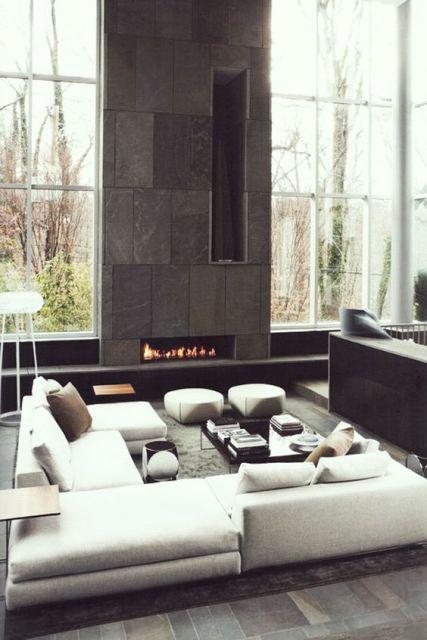 salas modernas ambientes e projetos