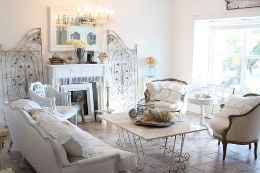 salas modernas branco