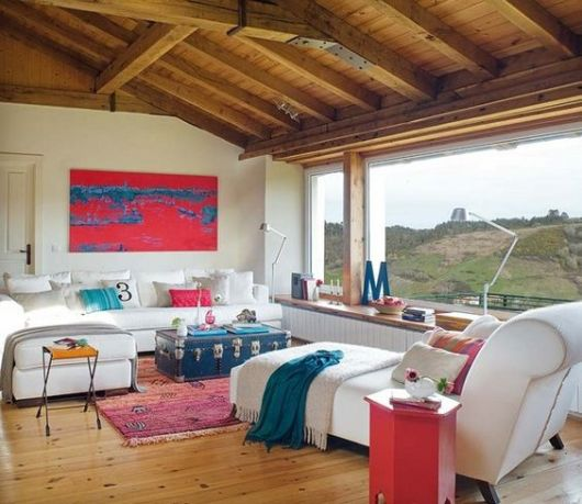 salas modernas no campo