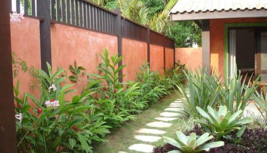 jardim rústico