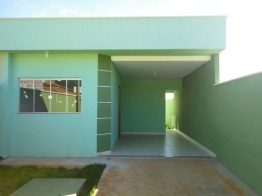 casa térrea com telhado embutido