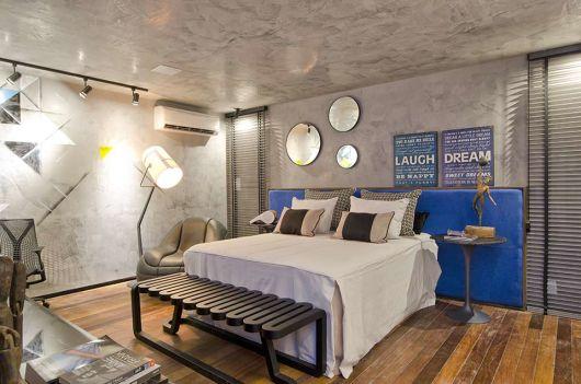 Textura de parede t cnicas e usos na decora o for Cortina de estilo industrial