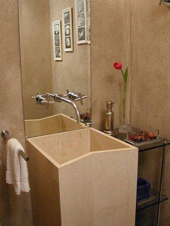 lavabo decorado