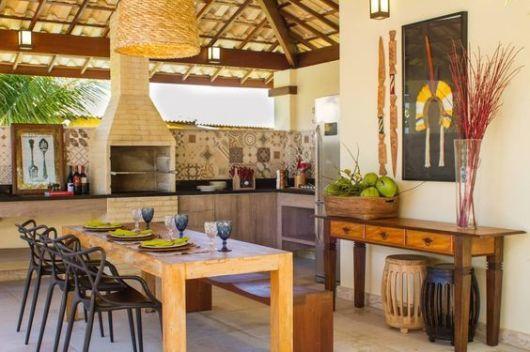 Varanda gourmet decorada 70 fotos lindas e dicas de m veis - Ver cocinas montadas ...
