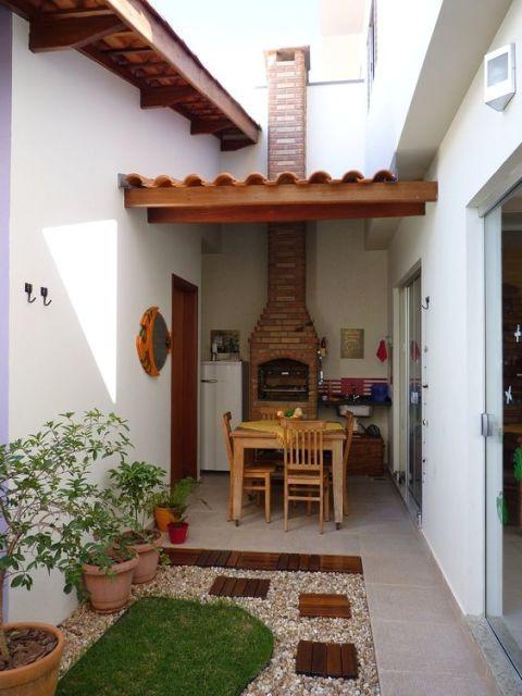 mini jardim apartamento:Varanda gourmet decorada: 70 fotos lindas e dicas de móveis!