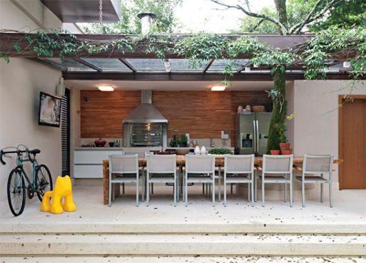 decorar um boteco:Varanda gourmet decorada: 70 fotos lindas e dicas de móveis!