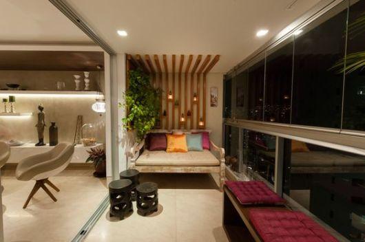 decoração com garden seat