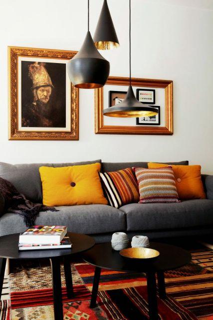 almofadas coloridas decoração