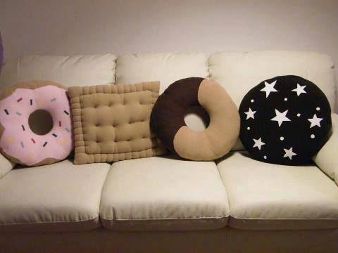 almofadas estampadas divertidas