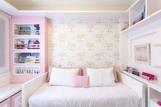almofadas lisas rosa
