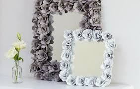 moldura decorada com flores