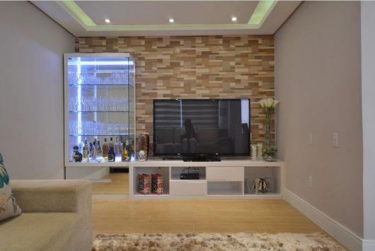 Sala Pequena Com Barzinho Moderno ~ Barzinho para sala dicas de como montar e decorações!