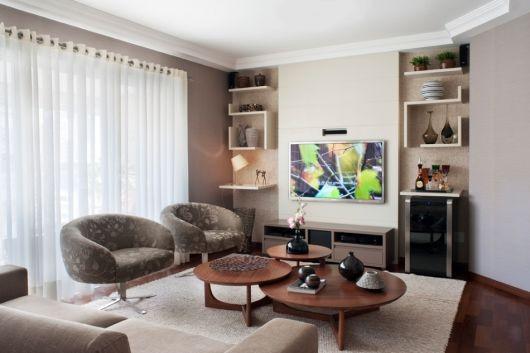 Sala Pequena Com Barzinho ~ Barzinho para sala dicas de como montar e decorações!