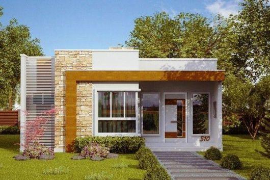 casas lindas e simples