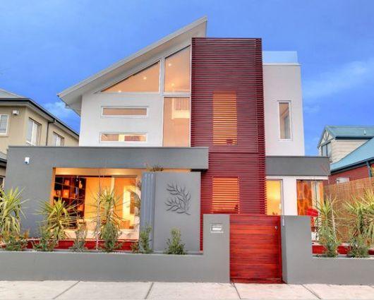 Casas lindas 60 fotos internas e externas para inspirar for Estilo de casa minimalista