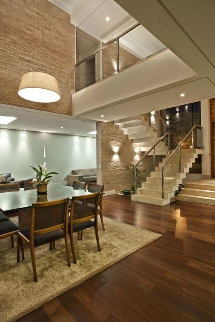 Casas lindas 60 fotos internas e externas para inspirar for Casas decoradas por dentro