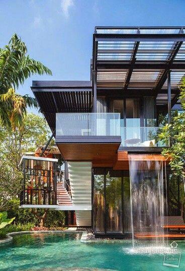casas modernas bonita