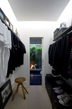 closet cômodo pequeno