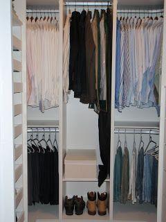 como organizar camisas