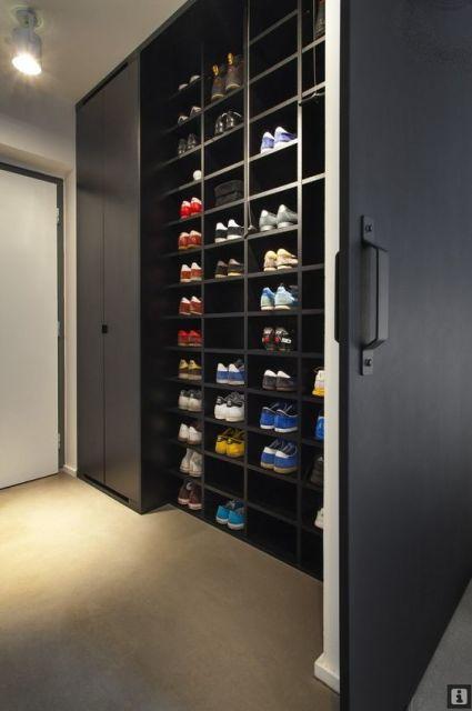 closet com sapateira