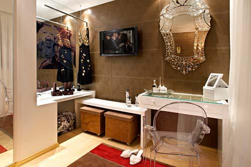 espelho veneziano na penteadeira dica
