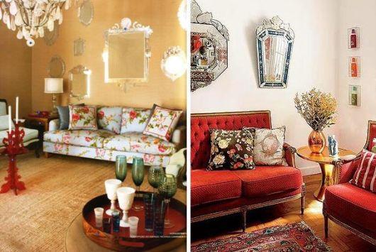 espelho veneziano sala dicas