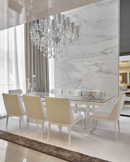 Sala De Jantar Modocasa Verona ~ Mármore Carrara Fotos lindas, Preço e Dicas!