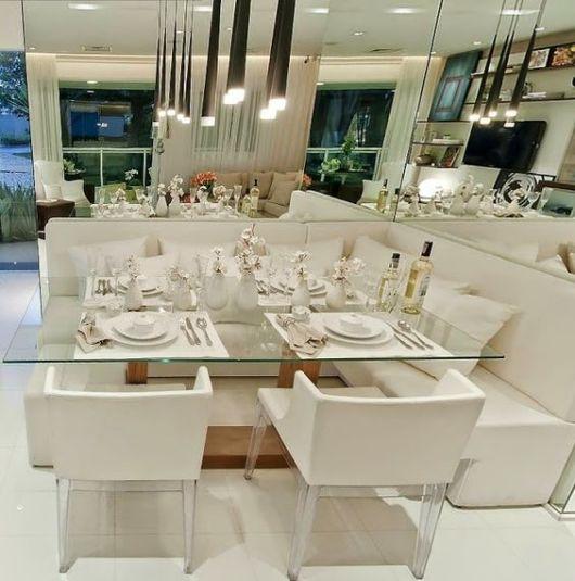 mesa de jantar chique