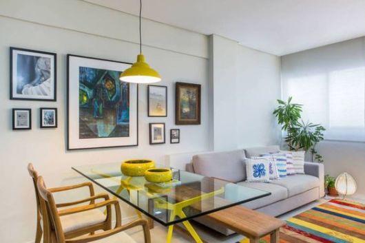 Mesa de jantar de vidro como escolher 45 modelos lindos - Decoracion casas pequenas modernas ...