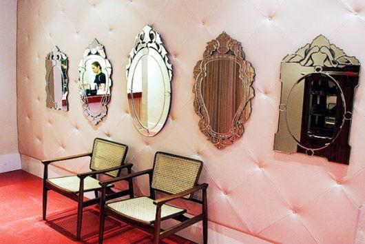 modelos de espelho veneziano