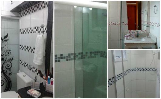 banheiros decorados adesivo