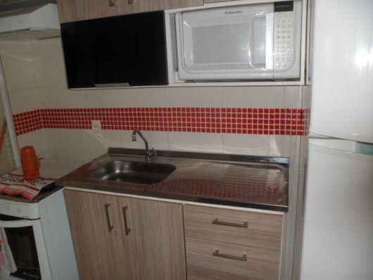 pastilha vermelha cozinha