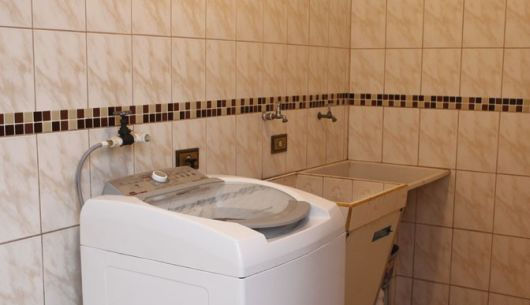 decoração lavanderia simples