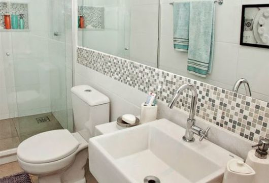 faixa decorativa banheiro
