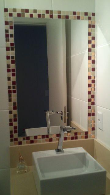 moldura simples espelho