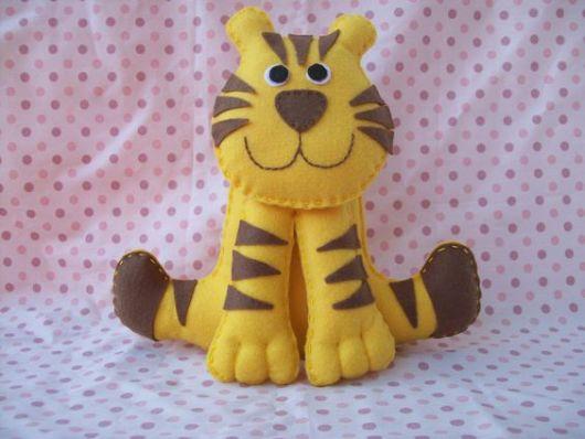 tigre de feltro