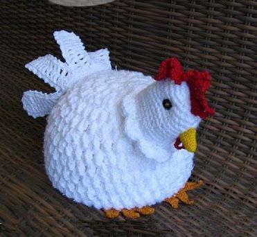 galinha branca