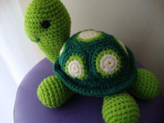 tartaruga crochê
