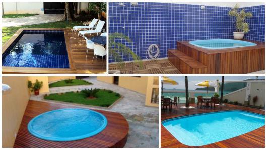 Piscinas pequenas 50 projetos inspiradores for Limpiafondos para piscinas pequenas