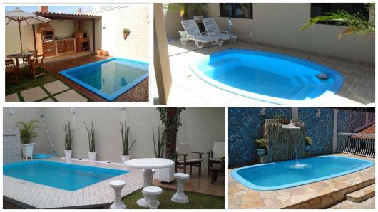 Piscinas pequenas 50 projetos inspiradores - Modelos de piscinas pequenas ...